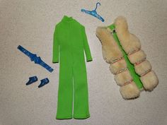 Barbie:  VINTAGE Complete WILD THINGS Outfit!