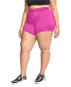 $18.75 · Take your workout to a fresh new level in Nike's Attack plus size training shorts with Dri-fit moisture-wicking technology that helps to keep you comfortable. Casual Loafers, Baby Sale, Women's Socks & Hosiery, Mens Sale, Nike, Plus Size Women, Soft Fabrics, Pink White