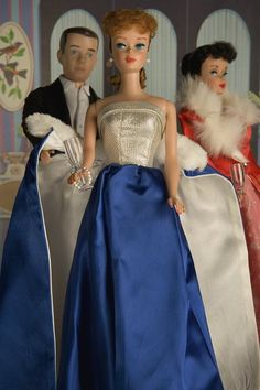 """""""Barbie Unveiling"""" photograph by Nicole Houff for sale $ 500  1965 Barbie Midnight Blue #1617"""
