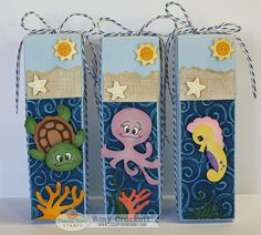 Scrapping Mommy : Under The Sea Treat Containers by mommy2darlings, via Flickr