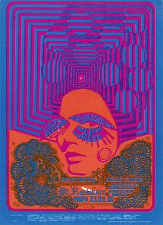 Big Brother and the Holding Company  (with Janis Joplin)    Mt. Rushmore    November 23-25, 1967 @ Avalon Ballroom - San Francisco    1967 © Family Dog Productions