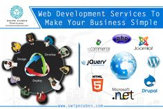 @swipecubessofts SwipeCubes Softs, provides professional #webdevelopment services with latest technology with online support
