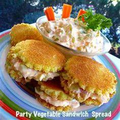 Party Vegetable Sandwich Spread Allrecipes.com
