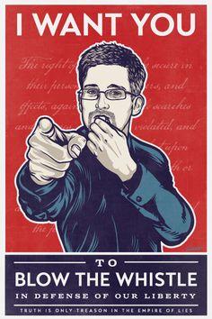 Blow the Whistle | Edward Snowden