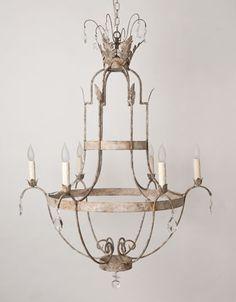 Victoria chandelier   Julie Neill