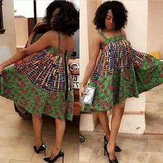 Dazzling, Dashing Ankara Styles For The Week (Photos) - iFashy Latest African Fashion Dresses, African Print Dresses, African Print Fashion, African Dress, African Attire, African Wear, African Women, Ankara Stil, African Design