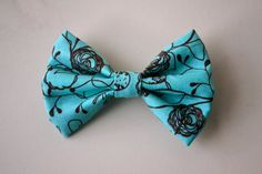 Blue Whimsical Bow $3.50  Free Shipping With Coupon- INSTABOW