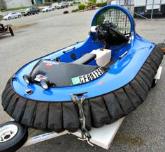 YOU can be the proud owner of this HOVERCRAFT. This 1993 Scat Mirage 2 person Hovercraft with Trailer is in good condition and is ready to hover over any surface. Now on GovLiquidation!