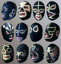 Septiembre Negro! Blue Demon, Luchador Mask, Mexican Mask, Mexican Wrestler, Mexico Art, Art Hub, Cosplay Armor, Human Head, Mask Design