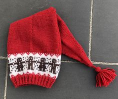 Ravelry: Langlue med pepperkaker pattern by Gro Andersen Knitting Patterns Free, Knit Patterns, Free Knitting, Baby Knitting, Crochet Pattern, Knitted Jackets Women, Christmas Knitting, Knit Jacket, Baby Hats