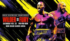 Here is the official undercard of the Wilder vs. Fury II WBC and Lineal heavyweight title Pay-Per-View fight scheduled for February Bronze Bomber, Deontay Wilder, World Heavyweight Championship, Tyson Fury, Mgm Grand Garden Arena, Anthony Joshua, Sport Online, Pay Per View, Dazed And Confused