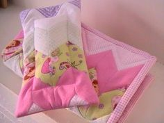 Sew Me Something Good: How to sew a zig zag doll quilt