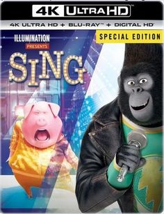 Sing 4K Blu-ray
