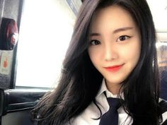 Even though she's yet to make her official debut, YG Entertainment trainee Kim Jisoo is already known for her incredible visuals. Yg Trainee, Exo Songs, Korean Air, Dream Music, Bts And Exo, Attendance, Flight Attendant, Korean Women, Yg Entertainment
