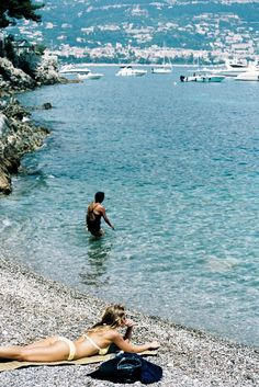 Paloma Beach in Saint-Jean-Cap-Ferrat, Cote d'Azur in France. Photo courtesy of Alyssa J. Smith and Leah Shlaer.