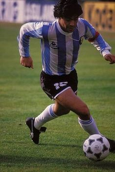 Football Soccer, Soccer Ball, Argentina Football, Diego Armando, Football Images, Champions League, Passion, Running, Rebel