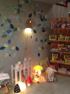 Wonderland Kids Concept Store interior. Shop display