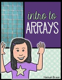 Practice arrays and repeated addition with these activities for grade. You get a set of arrays task cards, 8 practice pages, an anchor chart, and an assessment! 2nd Grade Math, Second Grade, Array Worksheets, Repeated Addition, Personal Narrative Writing, Common Core Math Standards, Eureka Math, Math Anchor Charts, Math Facts