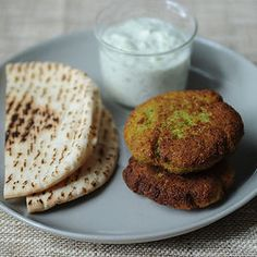 Vegetarian Savory Snack / Party - World's Easiest Falafel and Tzatziki