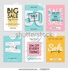rabatt flyer discount design Set media banners with discount offer. Shopping background, labe royalty-free set media banners with discount offer shopping background labe stock vector art amp; more images of sale Web Design, Email Design, Layout Design, Web Layout, Dm Poster, Sale Poster, Promotional Design, Newsletter Design, Sale Banner
