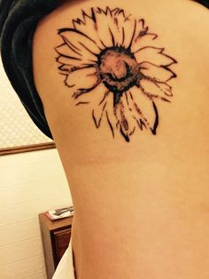 sunflower tattoo ❤️