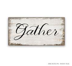Small Gather wooden box sign Gather art by DesignHouseDecor Wood Home Decor, Wooden Decor, Fall Home Decor, Wooden Diy, Wooden Boxes, Wooden Projects, Wood Crafts, Pallet Crafts, Thanksgiving Signs