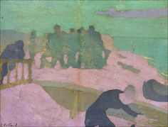 Edouard Vuillard (1868-1940) La plage violette