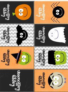 Faça Você Mesmo - Halloween Crafts - blog Vera Moraes - Decoração - Adesivos…