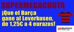 el forero jrvm y todos los bonos de deportes: marca apuestas Supermegacuota Barcelona vs Leverku...