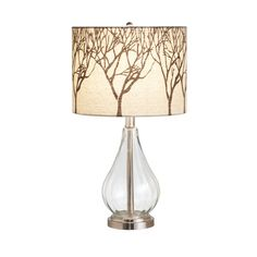 Glass Tree Shade Lamp | dotandbo.com