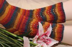 Ravelry: Vellamo pattern by Juurakko Creations Knitting Socks, Knit Socks, Knitting Ideas, Leg Warmers, Fingerless Gloves, Mittens, Plaid Scarf, Ravelry, Diy And Crafts