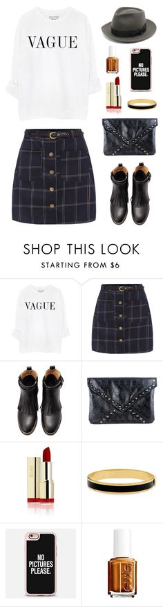 """""""#136"""" by ayappa ❤ liked on Polyvore featuring Halcyon Days, Casetify, Essie, women's clothing, women, female, woman, misses and juniors"""