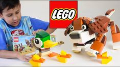 Lego park animals / lego building videos for boys
