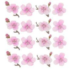 Cherry Blossom Dimensional Stickers