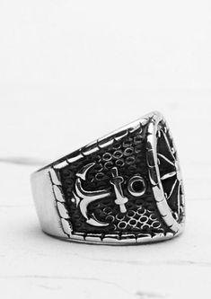 Steel Navel Body Jewelry Pair of Gunmetal Plated Double Flared Afghan Eyelets 6g Tawapa 56-PAIR-GMSP08-6