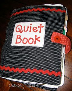 The Quiet Book Makes Its Debut! | Oopsey Daisy