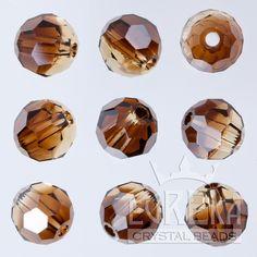 Eureka Crystal Beads - TOPAZ BLEND