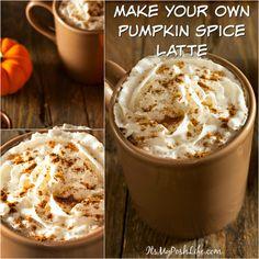 Make Your Own Pumpkin Spice Latte