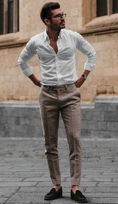 Rugged Style, Style Men, Business Casual Men, Men Casual, Elegant Casual Men, Mode Man, Formal Men Outfit, Casual Trends, Fall Trends