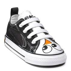 Penguin converse shoes. Want!