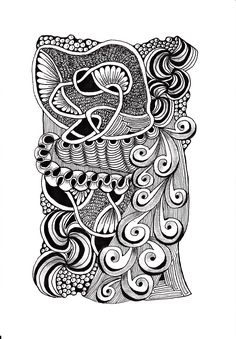Renates Zentangle 19.11.2018 Zentangles, Silk Sarees, Drawings, Cards, Ideas, Zentangle, Sketches, Maps, Drawing