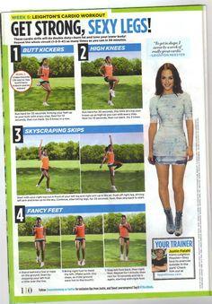 Get Strong Sexy Legs workout (week 5) - Seventeen Magazine