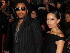 Lenny Kravitz in Sama Eyewear Max in Platinum