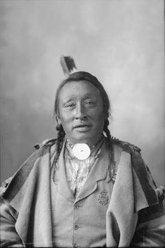 The Man - Assiniboine - 1898