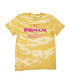 #womanforpresident #mushpamensa #organic #womanpresident #organiccotton Simple Definition, Organic Cotton T Shirts, Wise Women, Tie Dyed, Presidents, This Or That Questions, Prints, Tops, Design