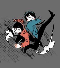 Osomatsu and Ichimatsu
