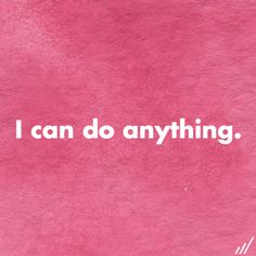 Dear E.D., I can do anything. I can eat enough. Rest enough. I can even learn to love myself! I am powerful. #edrecovery #affirmation