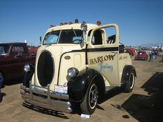 1938 Ford COE Wrecker. I have always liked the Ford horse collar grill.