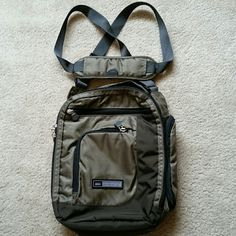 Crossbody/ messenger  bag Price is firm Nylon 3 small pockets outside 2 main compartment REI Bags Crossbody Bags