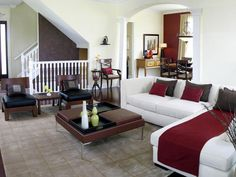Cozy Pops of Color --> http://www.hgtv.com/decorating/adding-color-with-throws/pictures/index.html?soc-=pinterest